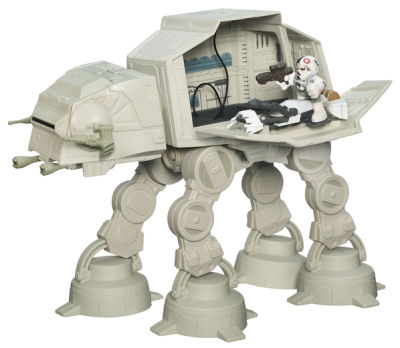 """Star Wars"" Galactic Heroes: AT-AT Walker Details"