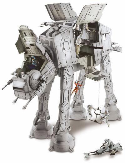 """Star Wars"" Imperial AT-AT (All Terrain Armored Transport) Details"