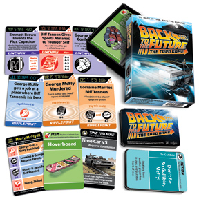 Back to the Future: The Card Game Contents