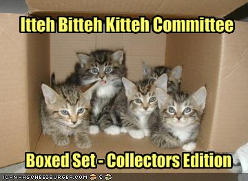 Itteh Bitteh Kitteh Committee Boxed Set - Collectors Edition