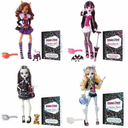 Monster High Fashion Dolls